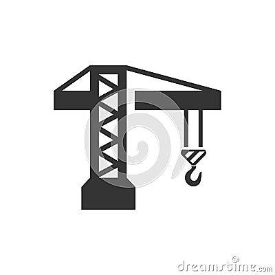 Free Construction Crane Icon Stock Photo - 120023240