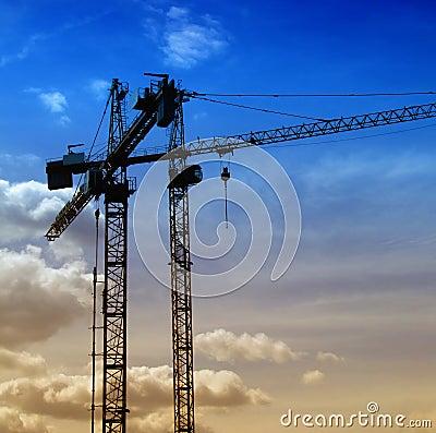 Free Construction Cranes 04 Stock Photo - 5882280
