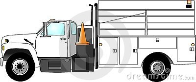 Construction Crew Truck