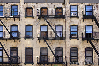 Construction d 39 appartement de new york image libre de droits image 693 - Achat appartement new york ...