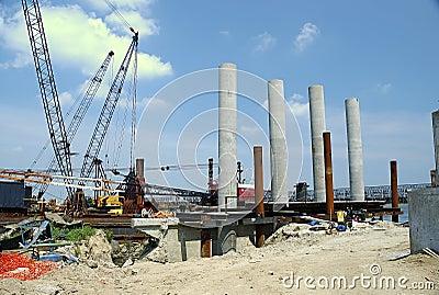 Construction de passerelle