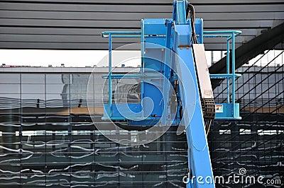 Construction equipment working