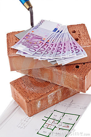 Construction, financing, building societies. Brick
