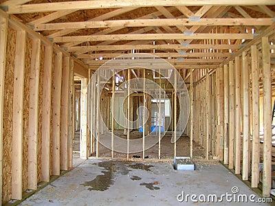 Construction - Framed Garage