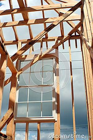 Construction Framed Window
