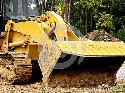 Construction - Front Loader Scoop