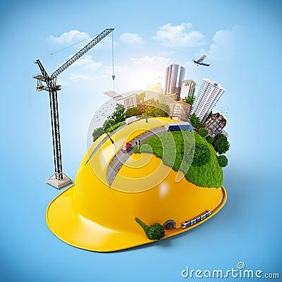 Free Construction Helmet. Stock Photos - 37611203