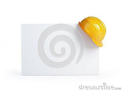 Construction helmet blank