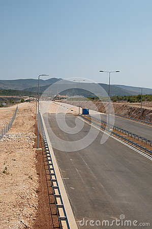 Construction of a highway