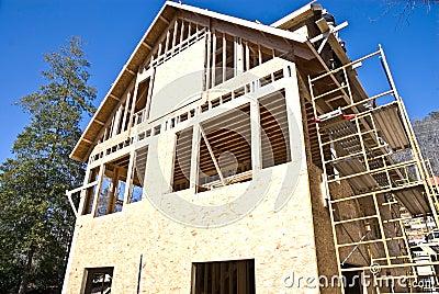 Construction/House/Scaffolding