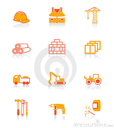 Free Construction Icons | JUICY Series Stock Images - 5214604