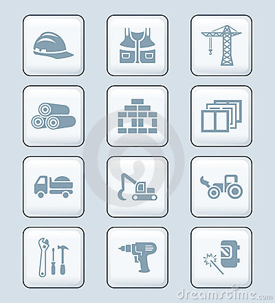 Free Construction Icons | TECH Series Royalty Free Stock Images - 22841769