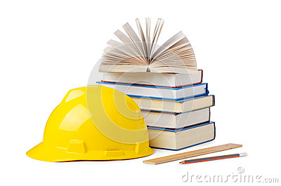 Construction industry education concept