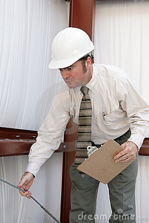 Construction Inspector - Testing Tension