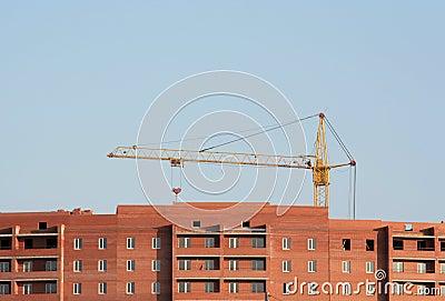 Construction, lifting crane
