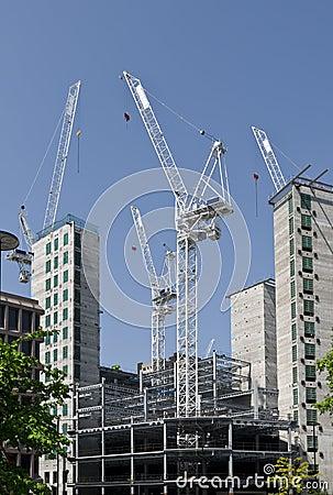 Construction at London.