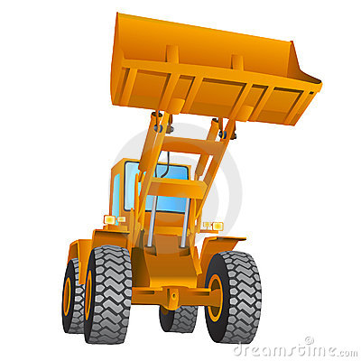 Free Construction Machine Vector Royalty Free Stock Images - 5606469