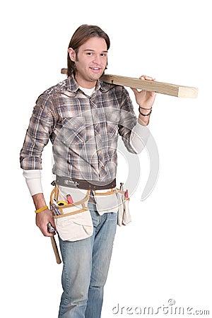 Construction man