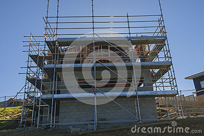 Construction of new home building auckland new zealand for New construction building process