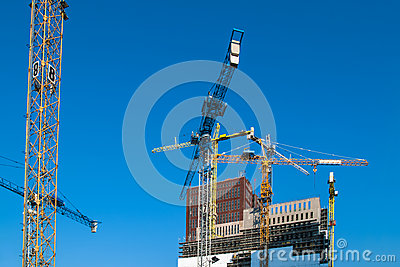 Construction of new offices