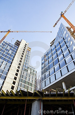 Free Construction Of Buildings Stock Image - 17323281