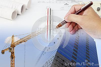 Construction Plan Stock Photography - Image: 25871692
