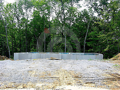 Construction - Poured Concrete Foundation