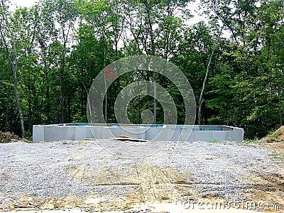 Construction - Poured Concrete Foundation