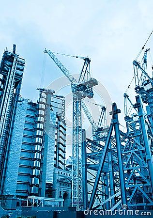 Construction project site