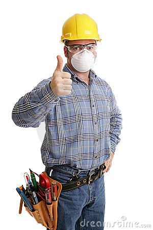 Construction Safety Thumbsup