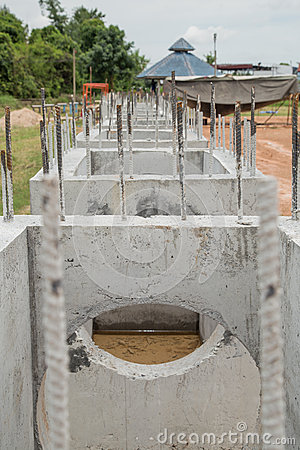 Construction of sewers
