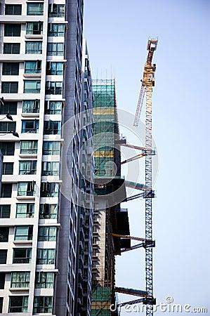 Construction in Shenzhen, China