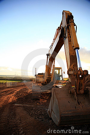 Free Construction Site Royalty Free Stock Photo - 1924745