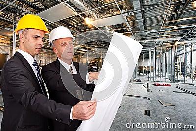 Construction site supervising