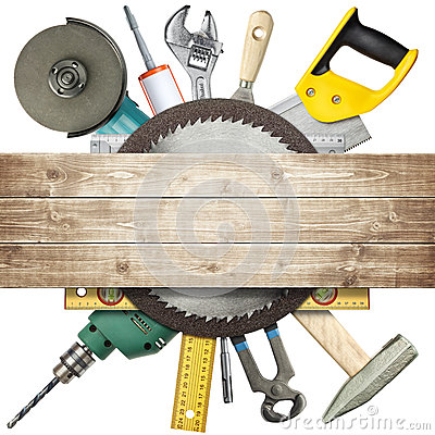 Free Construction Tools Stock Image - 25047831