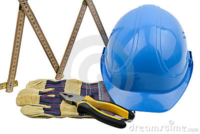 Construction Tools Royalty Free Stock Photo - Image: 8077155