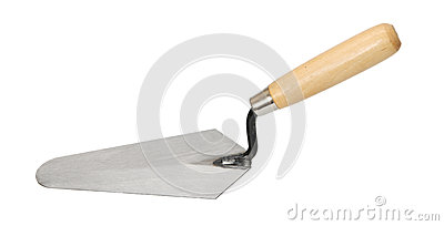 Construction trowel.