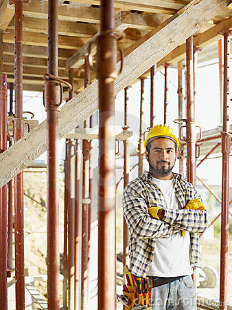 Free Construction Worker Royalty Free Stock Image - 11554546