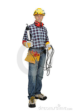 Construction Worker Royalty Free Stock Images - Image: 12337859