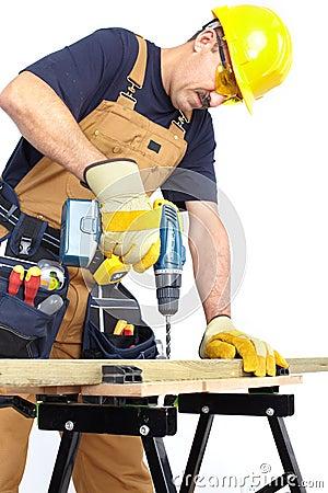 Construction. Worker