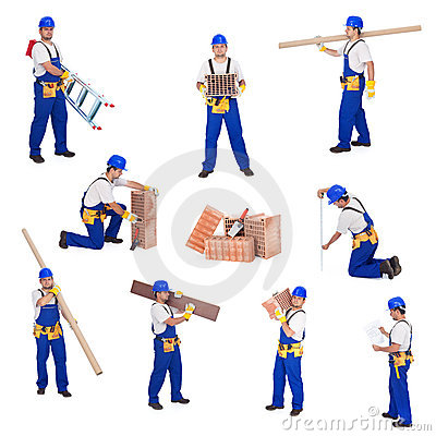 Free Construction Worker Royalty Free Stock Images - 20274349