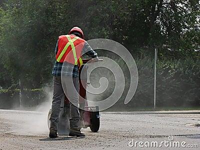 Construction Worker Dusty