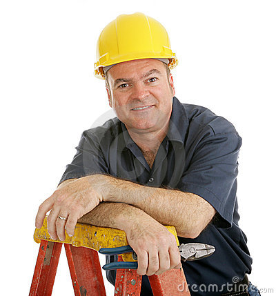 Free Construction Worker Relaxed Stock Photo - 5346440