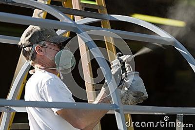 Spray Painter Man