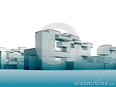 Constructivism in blue