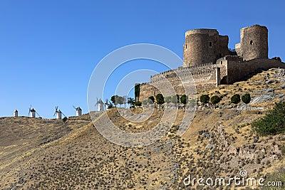 Consuegra Castle - La Mancha - Spain
