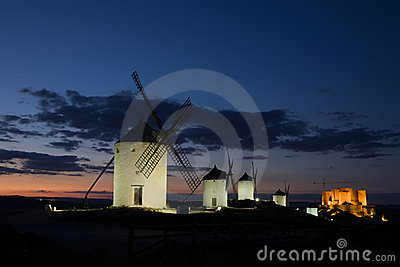 Consuegra at Dusk