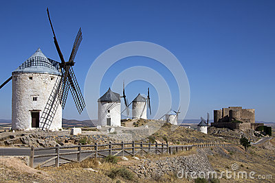 Consuegra Windmills - La Mancha - Spain