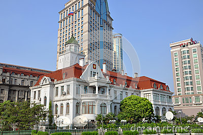 Consulate General of Russia in Shanghai Editorial Stock Photo