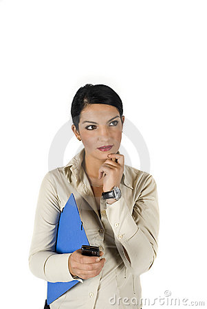 Free Consultant Woman Royalty Free Stock Image - 6839376